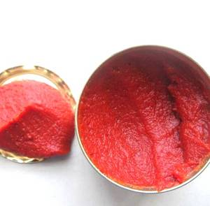 Wholesale Other Canned Food: Pure Canned Tomato Paste with Light Red Color