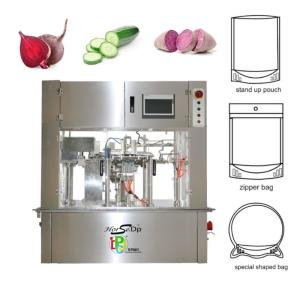 Wholesale frozen vegetables: Frozen Vegetable Premade Pouch Packing Machine