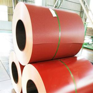 Wholesale steel sheet: Matt Red Color PPGL Steel Coils for Roofing Sheet