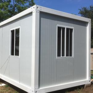 Wholesale steel house: Easy Installation Prefabricated Steel Structure Frame Standard Movable Container House
