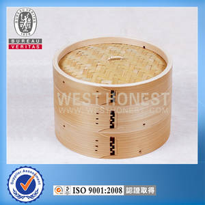 Wholesale Food Steamers: Wooden Steamer, Bamboo Steamer 6inch, 8inch, 10inch