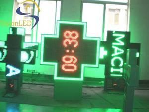 Wholesale pharmacy cross: LED Pharmacy Cross (110 Cross Full Color)
