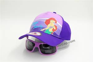 Wholesale sunglass: Kids Hat with Sunglasses
