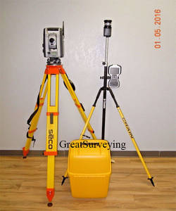 Wholesale surveying prism: Trimble S8 DR HP FineLock Robotic Total Station 1 Sec TSC3 Access MT100