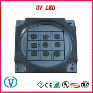 Wholesale led module wire soldering: 1W 254nm 260nm 265nm 280nm 310nm Deep UV LED Diode for Sterilizaton Fluorescence