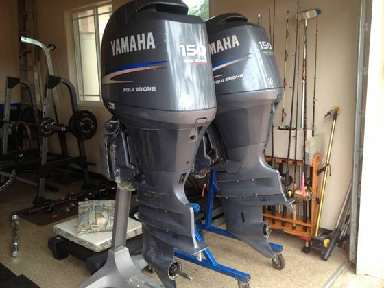 Sell Used Yamaha 150hp Outboard Engine