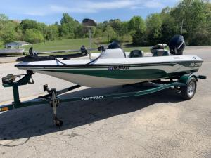 Wholesale depth finder: Used Tracker Nitro 640LX 16' Fiberglass Bass Boat with Mercury 60hp Outboard Motor and Trailer