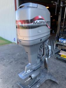 Wholesale 115hp outboard motor: Used Mariner 115HP 2-Stroke Outboard Motor for Sale
