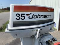 Used Johnson SeaHorse 35HP 2-Stroke Outboard Engine for Sale 8