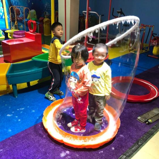 MIYING Bubble Show Equipment for Kids Bubble Party