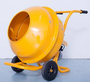 Wholesale electric concrete mixer: Hand-pushed Electric Small Concrete Mixer
