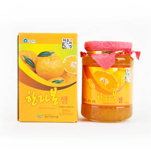 Wholesale Jam: Jeju Hallabong Orange Marmalade 21oz (600g) Natural Taste Unique DelIcious Jam