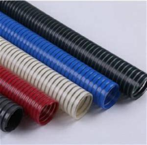 Wholesale pvc food wrap: PVC Hose with Color PVC Helix for Material Transportation/Wine Transport Hose