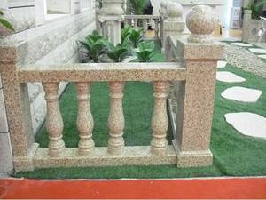 Wholesale carved fireplace: Stone Railing Handrail