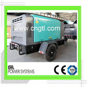 Wholesale off road trailers: Diesel Engine Driven Screw Air Compressor