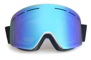 Wholesale goggles: Blue Women Snow Goggles