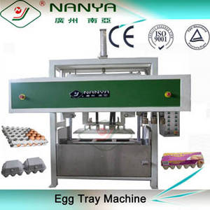 Wholesale egg carton machine: Waste Paper Pulp Molding Egg Tray / Carton / Box Making Machine with A Drying Room