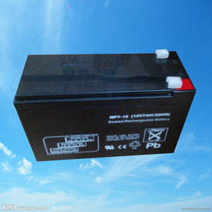 Wholesale eas anti theft system: 12v7.2ah Maintenance Free Rechargeable Lead Acid Battery