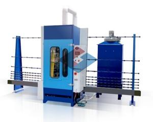 Wholesale sand blasting machine: Automatic Vertical Glass Sand Blasting Machine