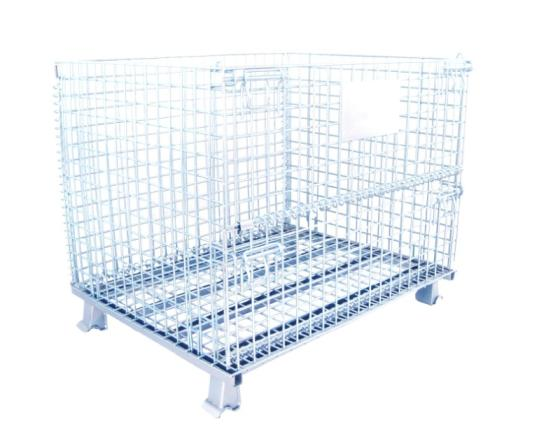 Collapsible Metal Storage Mesh Stillage Pallet Box Wire Containers
