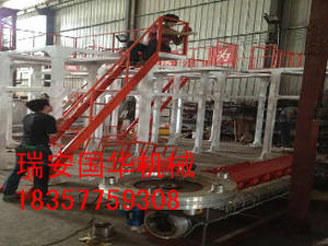 Wholesale film blowing machine: Single Screw Double Die Head Plastic Film Blowing Machine