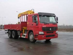 Wholesale truck mounted crane: Sell/Buy Sinotruck 10t Mounted Crane Truck EURO3 Russia/Nigeria/South Africa/ Thailand