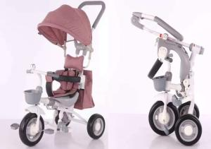 Wholesale Strollers, Walkers & Carriers: Foldable Baby Tricycle 4 in 1 Baby Carrier Tricycle Manufacturer