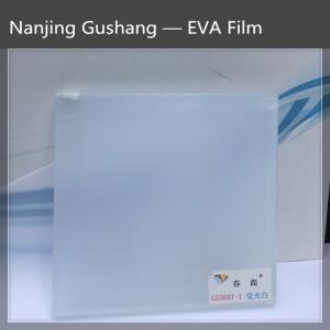 Wholesale safety glass: Fluorescence White EVA FILM for Safety Glass