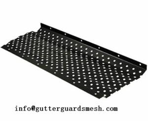 Wholesale stainless steel perforated sheets: Snap in Gutter Guard