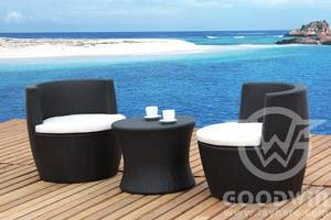 Wholesale outdoor furniture: GW3023 Set  Garden Outdoor Furniture Rattan Vase