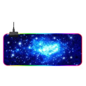 Wholesale marquee: Creative OEM Custom Mouse Pad LED Light RGB Marquee Light Computer PC Laptop Keyboard Pad
