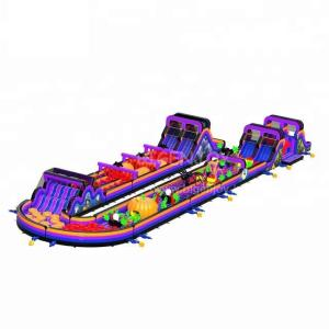 Wholesale outdoor playground: Outdoor Playground Inflatable Games Adults and Kids Giant Inflatable Obstacle Course