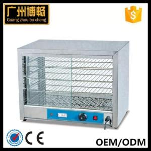 Wholesale snack display warmer: Commercial Hot Food Snack Pie Glass Display Warmer Showcase