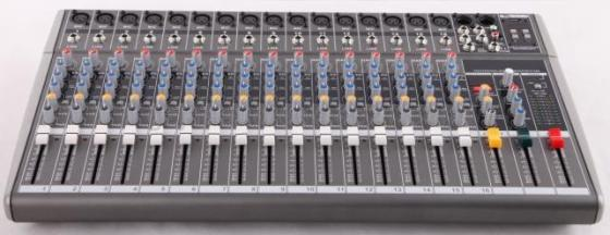 16 Channel Mixer Console for Professional Audio System