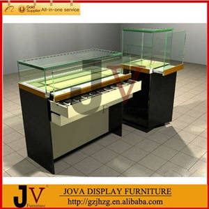 Wholesale glass display case: Multifunctional  Glass Cell Phone Display Case Design and Manufacture