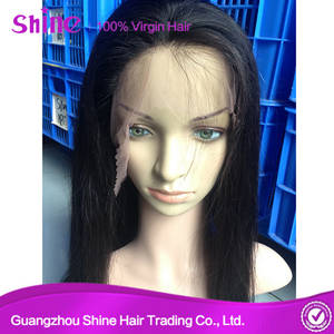Wholesale full lace wigs: Raw Human Full Lace Wig Hair Extension