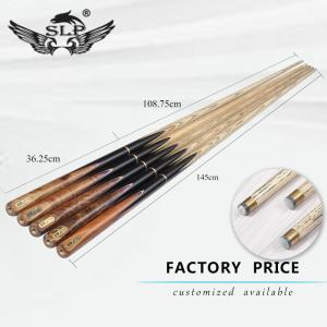Wholesale Billiards: SLP High Quality 9-10 MM Tip Ash Wood Billiard Snooker Cue for Sale