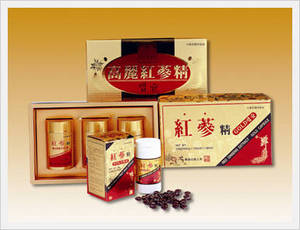 Wholesale Herb Medicine: Korean Red Ginseng Extract Gold Capsule