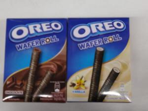 Wholesale wafer: Oreo Wafer Roll 54gr