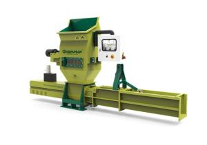 Wholesale polystyrene recycling: GREENMAX Apolo C100 Styrofoam Compactor