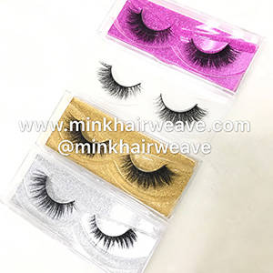 Wholesale False Eyelash: Mink 3D Lash Sexy Mink Lash Extensions Handmade 100% Real Mink Fur Lashes