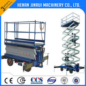 Wholesale lifting platform: 3T Mobile Hydraulic Scissor Lift Platform