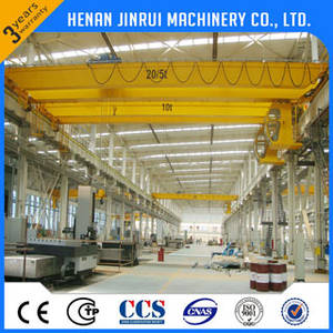 Wholesale crane lifting electromagnet: 20Ton Double Girder Eot Crane, Overhead Crane, Bridge Crane