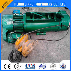 Wholesale crane in europe: 5 Ton Lift Machine Wire Rope Electric Hoist