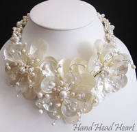 Fashion Gemstones Jewelry Necklace with Earrings Handmade