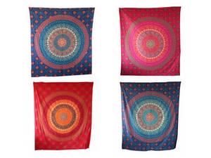 Wholesale machine printing: Handicrunch | Indian Traditional Cotton Wall Hanging