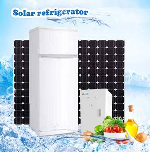 Wholesale solar freezer: BCD-220 Solar DC Fridge