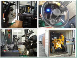 Wholesale small loader: 2013 New Design Small Loader ZL15 for Euro Market