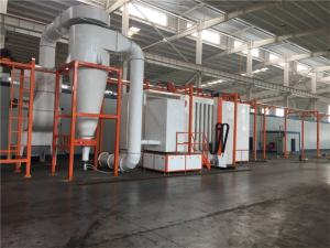 Wholesale room spray: Fast Automaticcolor Change Powder Spraying Room