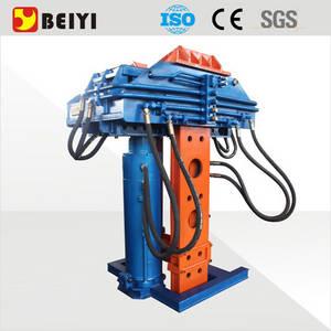Wholesale hydraulic beam jack: BEIYI Hydraulic Pile Pulling Machine Sheet Pile Extractor